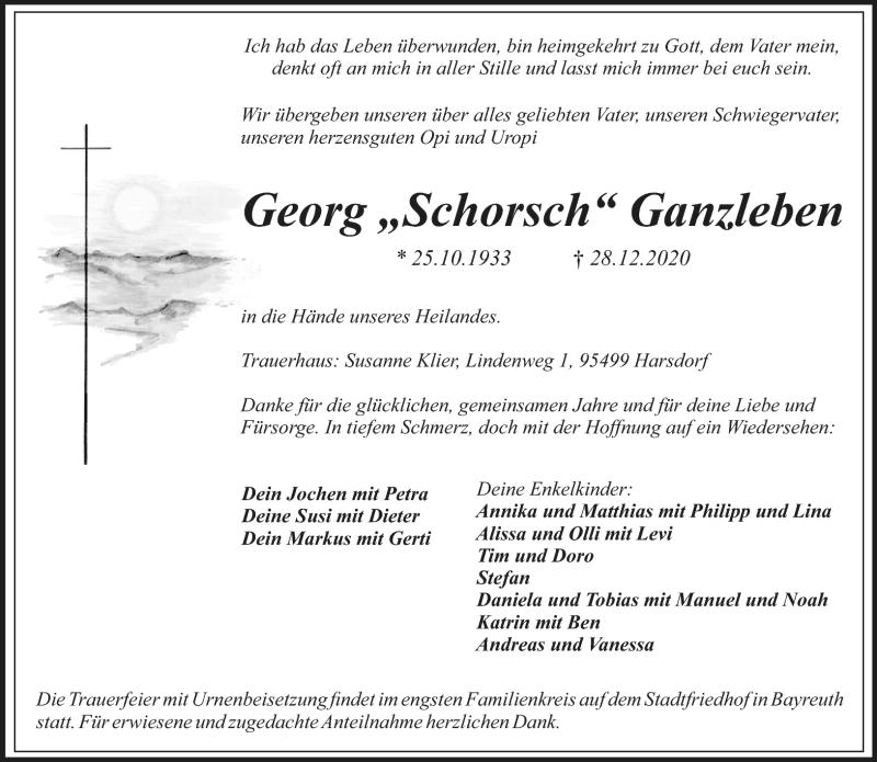 Todesanzeige_Georg Ganzleben